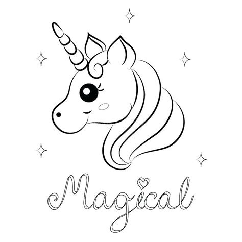 coloring pages  unicorns  print