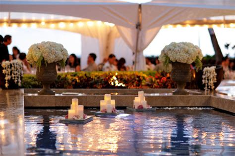 gorgeous pool decorations for weddings the magazine