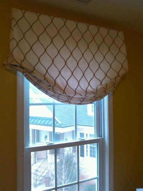 Modern balloon valance   Window treatments   Pinterest