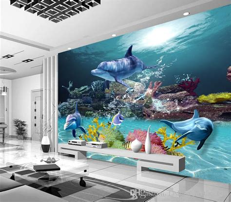 custom  wallpaper underwater world photo wallpaper ocean
