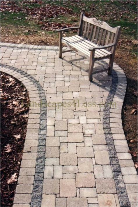 pavers for walkways ideas paver walkway design ideas