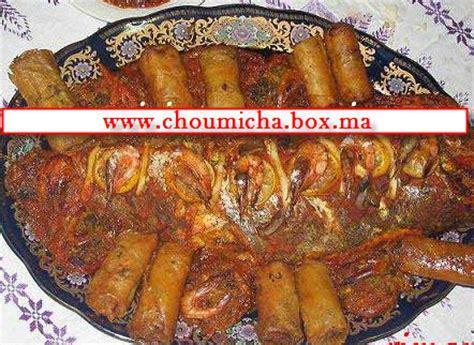 poisson cuisine marocaine poisson au fines herbes choumicha cuisine marocaine