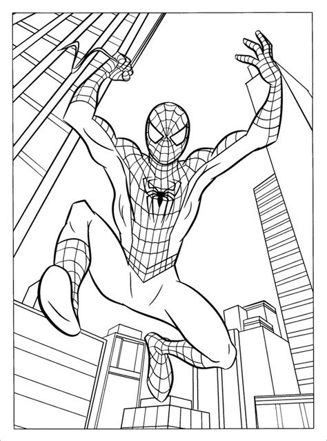 spoderman template 30 colouring pages printable colouring pages free premium templates