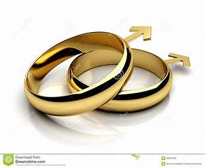 gay male wedding rings stock illustration image of render With gay wedding rings male