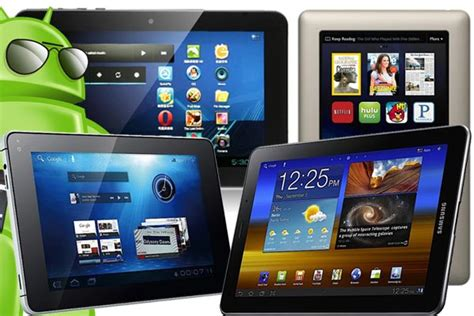 top android tablets best 7 inch android tablets of 2012 android authority