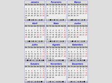 Calendário português para 2011 com feriados Fichas e