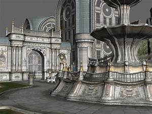 Gothic City Building Scene 3d Model 3dsMax Files Free