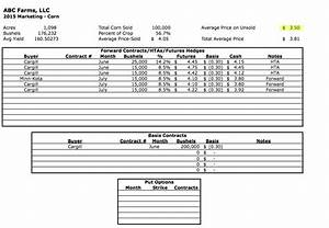 become a farm focused excel master today With farm cash flow template