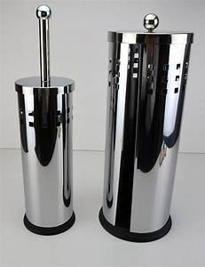 Wc Bürste Set : wc garnitur set b rste rollenhalter b rstenhalter b rstenset toiletten bad ebay ~ Whattoseeinmadrid.com Haus und Dekorationen