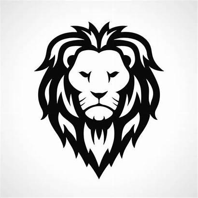 Lion Vector Head Icon Face Abstract Clip