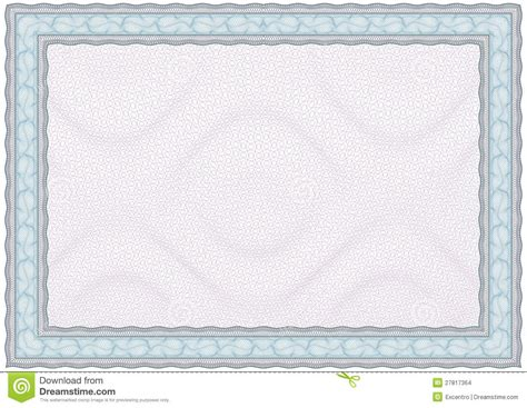 blank diploma  certificate stock vector image