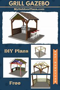 Step By Step Instructions For You To Build A Grill Gazebo