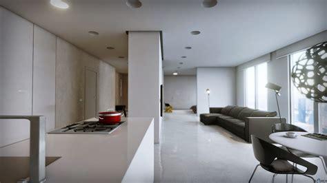 Minimalist Apartment By Archviz In Architectural