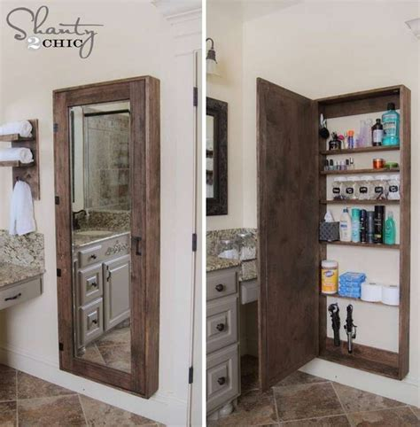 extra storage cabinet for kitchen awesome diy bathroom mirror cabinet for some extra storage
