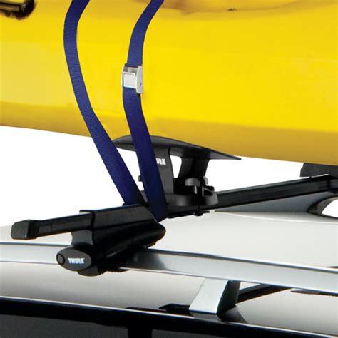 thule kayak saddles deck roof racks rackwarehouse