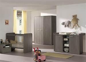 Chambre De Bébé Ikea : chambre b b contemporaine bouleau gris lucie chambre ~ Premium-room.com Idées de Décoration