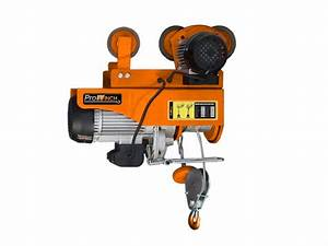 440 Lbs     880 Lbs  Electric Rope Hoist W   Power Trolley