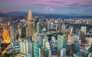 Download wallpapers Kuala Lumpur, skyscrapers, urban ...