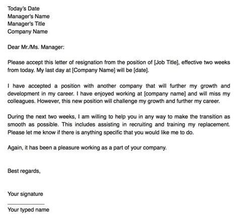 surat rasmi berhenti kerja notis  minggu rasmi