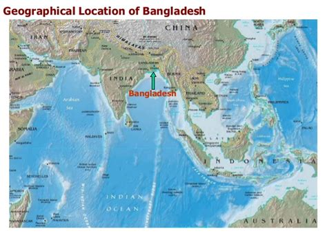 What Is Geographical Location by Flood Management In Bangladesh