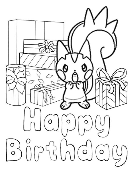 pokemon  presents coloring page   coloring pages