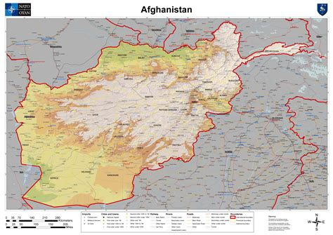 afghanistan map afghanistan mappery
