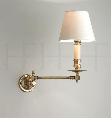 swing arm light wall mount l design adjustable image of