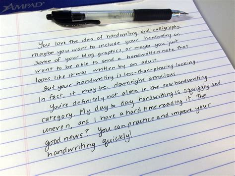 handwriting how to improve your handwriting for lettering and