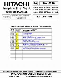 Hitachi 51f59a Manual Pdf