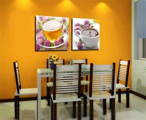 deco murale salle a manger peinture salle 224 manger 77 id 233 es charmantes