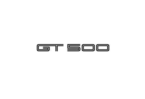Ford Gt 500 Logo Reproduction