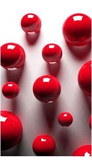 Red Balls - 3D - Fotomurales