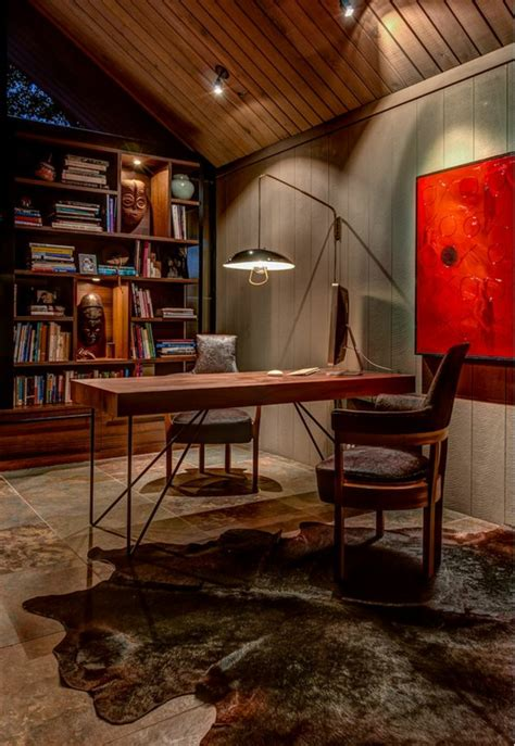 interieur design sombre dune jolie maison de plain pied