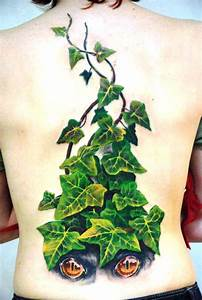 Collection of 25+ Ivy Leafs Tattoo Design