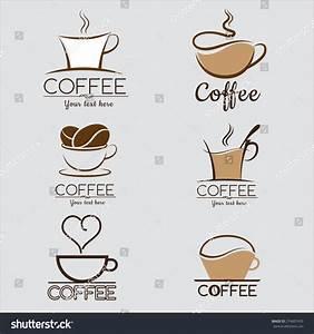 set coffee logo labels design templates stock vector With coffee label design template