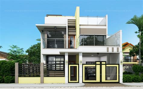 single house floor plans prosperito single attached two house design with