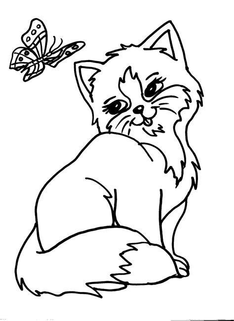 disegni  gatti da colorare nuova disegni da colorare dei