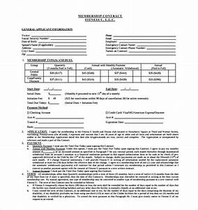15 Gym Contract Templates Word Google Docs Apple Pages Free Premium Templates