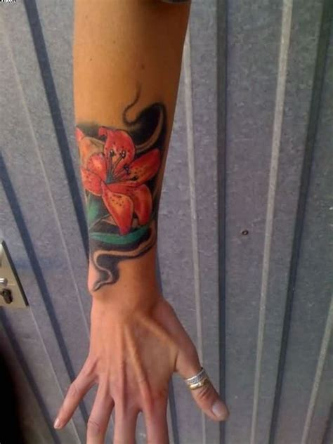 amazing flowers wrist tattoos