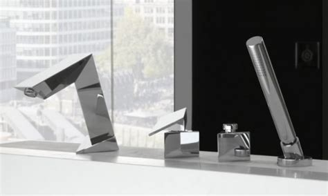 Ultra Modern Bathroom Faucets by Ultra Modern Bathroom Faucet Inspired By Stealth Bomber