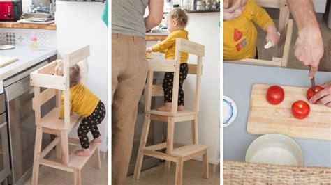 marche pied cuisine cuisine comment l adapter aux enfants