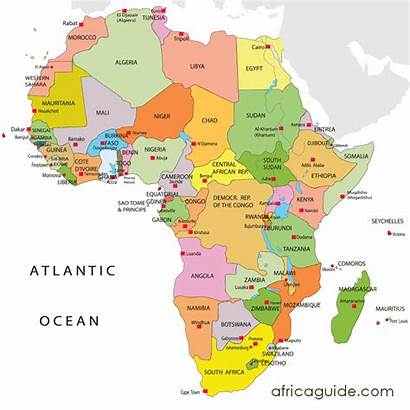 Africa Map African Maps Guide South Clickable