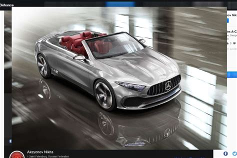 siege auto class mercedes concept a sedan 2017 une version cabriolet
