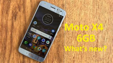 moto x4 6gb unboxing and what s new
