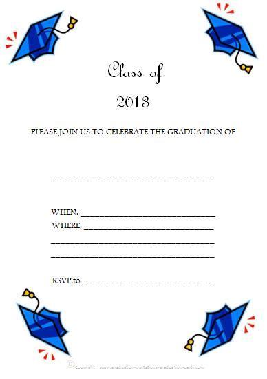 free printable graduation invitation templates free printable graduation invitations great free templates