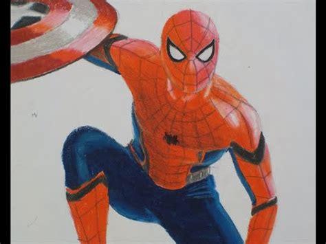 spider man drawing captain america civil war adrian