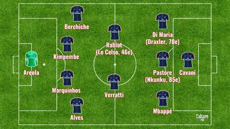 Match : Pastore et Di Maria titulaires pour PSG/Lille ...