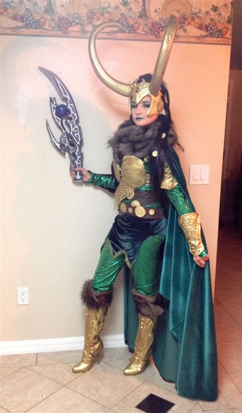 Lady Loki Cosplay Thor The Dark World Movie Premier