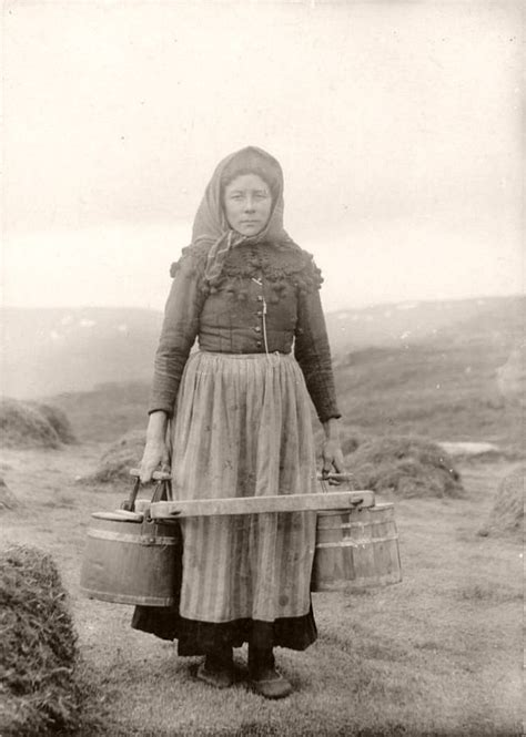 vintage portraits  icelandic people  daniel bruun