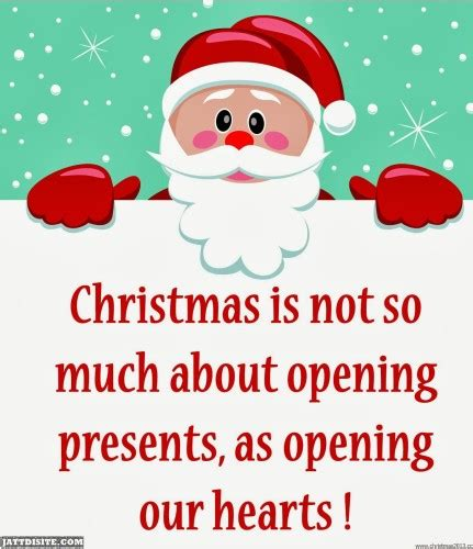 Christmas Is Not So Much About Opening Presents As Opening